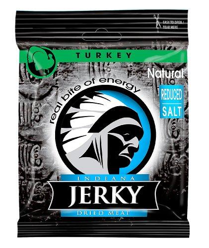 Indiana Jerky Turkey Natural, 6er Pack (6 x 25 g)