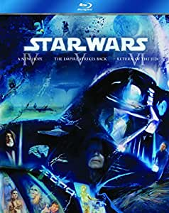 Star Wars: The Original Trilogy (Episodes IV-VI) [Blu-ray] [1977] [Region Free]