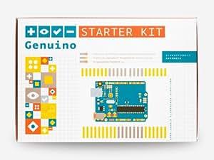 Genuino Starter Kit [German] (Official Kit von Arduino.cc mit 176 Seiten ProjektBuch)