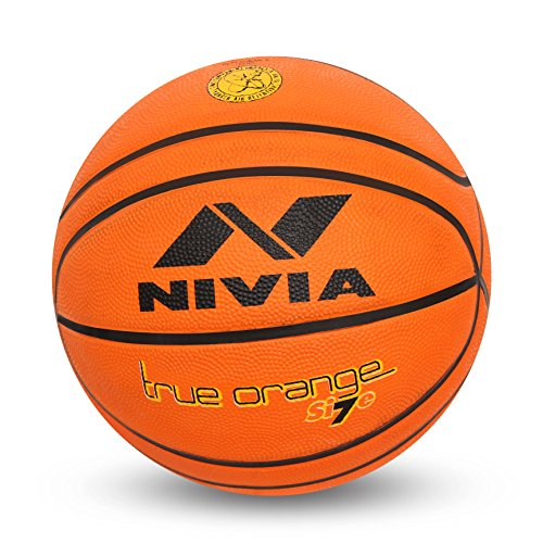 Nivia Regular-True Basketball, Size 7 (Orange)