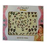 Bindis 84 Stück Stirnschmuck Kärtchen Karte selbstklebend Bollywood Schmuck Indien Hinduismus