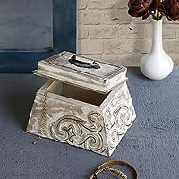 San Valentino regalo, Esclusivo Keepsake in legno scatola di immagazzinaggio Accessori da collezione craft supplies strumenti bustine di te titolare scatola organizzatore