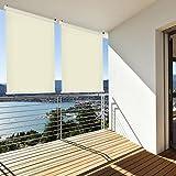 Sonnenschutz Balkonsichtschutz Sichtschutz Balkonrollo Rollo Terrasse