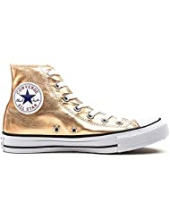 Converse All Star Hi Damen Sneaker Metallisch