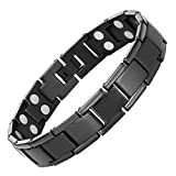 #3: Double Strength Titanium Magnetic Therapy Bracelet For Arthritis Pain Relief By Willis Judd