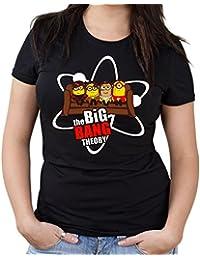 Big Bang Minions Sofa Girlie Shirt | Big Bang Theory | Fun