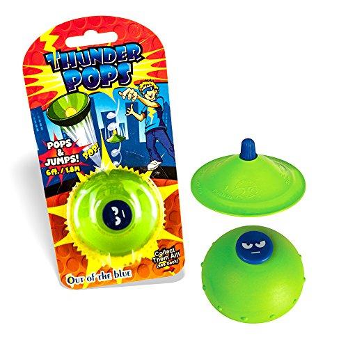 .DER DROHNEN-GURU DS24 Thunder Pops in Grün - Gummi UFO Schnalzer Popper Spring Pop ()