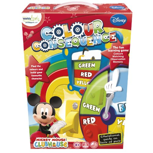 Disney Junior Mickey Mouse Clubhouse Colour Consequences