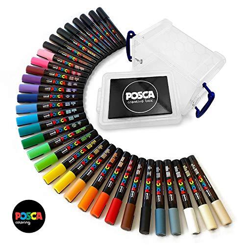 POSCA PC- 5 m 33 cm gamme complète de toutes les couleurs