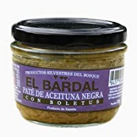 "Paté de Boletus Silvestre con Aceituna Negra""El Bardal"" - Productos Silvestres del Bosque - Gourmet"