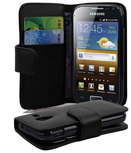 Cadorabo - Custodia per Samsung Galaxy ACE 2, colore: Nero