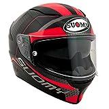 Casco integral Suomy Speedstar Rap Red Helmet Casque L negro/rojo