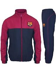 FC Barcelona officiel - Lot veste et pantalon de survêtement thème football - garçon
