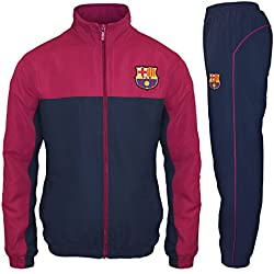 FC Barcelona - Chándal oficial para hombre - Chaqueta y pantalón largos - Medium