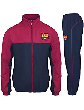 FC Barcelona - Chándal oficial para niño - Chaqueta y pantalón largos