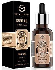 The Man Company Beard Growth Oil with Argan & Geranium for Beard Growth - 30ml