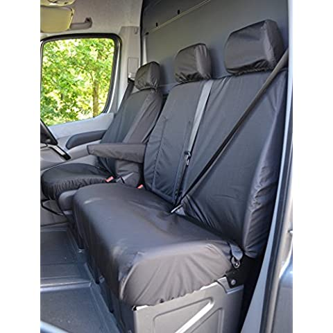 Furgone Mercedes Sprinter dal 2010 in poi sedile del conducente e passeggero anteriore con centro (Sedile Anteriore Del Passeggero)