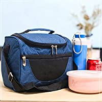 AIMMMY Thermal Ice Box, Waterproof 12L Insulated Lunch Cooler Bag Drink Cool Bags for Hiking Picnic Camping Beach BBQ Party with Adjustable Shoulder Strap,Blue