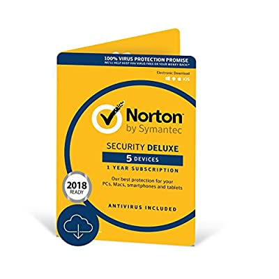 Norton Security Deluxe - 5 Devices : everything five pounds (or less!)