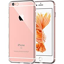 """Funda iPhone 6s, JETech Apple iPhone 6/6s 4.7 Funda Carcasa Case Bumper Shock- Absorción y Anti-Arañazos Borrar Espalda para iPhone 6 4.7"""" (HD Clara)"""