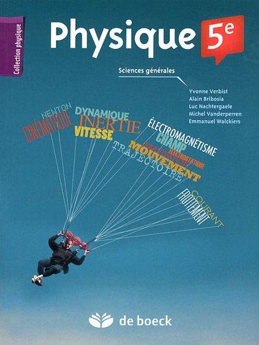 Physique 5e : Sciences générales