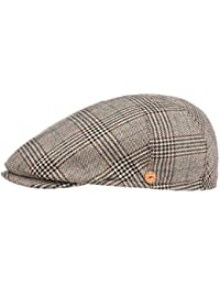 MAYSER Coppola Premium Glencheck Cappello Piatto Berretto Cappellino da Uomo 1e4dcb5e331b
