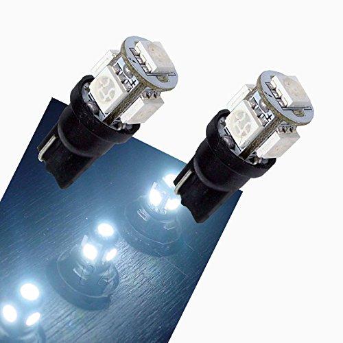PA 2x 5–5050Truck LED Drehen Glühlampen 1682825T10194weiß 24V