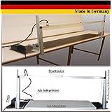 Werkstatt-Bedarf WDVS 002 - Cortadora de poliestireno (sierra térmica, soporte de aluminio anodizado, longitud máxima de corte de 110cm, 40cm de alto)