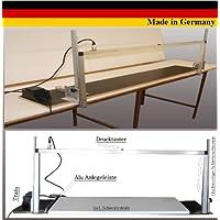 Styroporschneidegerät Thermosäge WDVS Styroporcutter 002 / Gestell aus eloxiertem Aluminium / Schnittlänge max. 110 cm, Höhe 40 cm