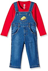 612 League Baby Boys Leggings (ILW16I32002_Blue_3-6M)