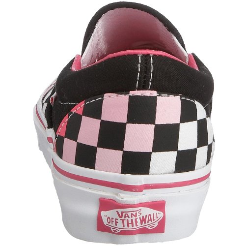Vans U Classic Slip-on, Baskets mode mixte adulte Rosa (Multi Check Rosa Lightning)