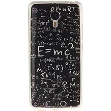 Guran® Silicona Funda Carcasa para Meizu M2 Note Smartphone Bumper TPU case Cover-Fórmulas físicas