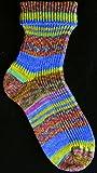 OPAL Sockenwolle Hundertwasser II - Die Nachbarn I Spiralsonne und Mondhaus