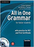All in One Grammar Italian edition with Answers and Audio CDs (2) [Lingua inglese]