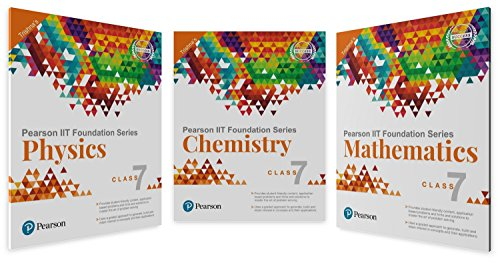 IIT Foundation Physics, Chemistry & Maths for Class 7 (Main Books)
