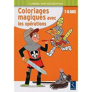 Coloriages magiques avec les opérations