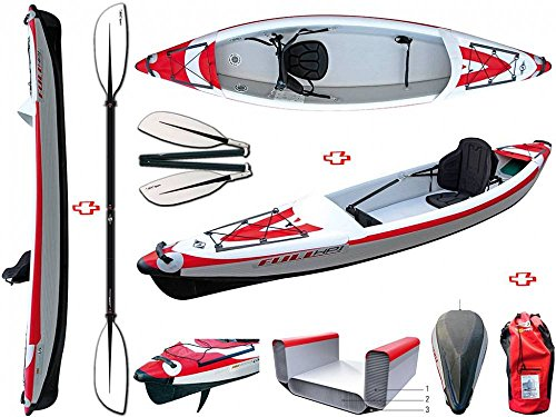 BIC Sport - YakkAir Full HP Inflatable Canoe 1 One 101497 + 4 31652 Bic Sport Divisible Pay