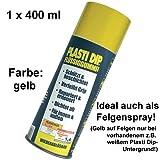 Plasti Dip Sprühfolie Flüssiggummi Spray 400ml, gelb