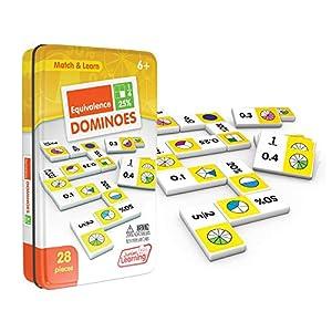 Junior JL487 Educational Dominoes - Aprendizaje