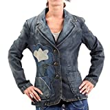 MISS SIXTY Damen Jeans Blazer Jacke Yvonne blues Jacket Blue Größe M