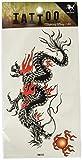 King Horse King Horse Wasserdicht und Schweiß Tattoo-Aufkleber männliche Drache Totem