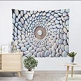 mubgo Tapisseries Mandala Tenture Murale Tourbillon Pavés Tapisserie Murale 3D...