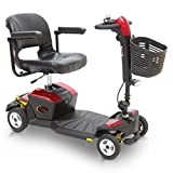 Pride Go-Go Apex Rapid Mobility Scooter - Red