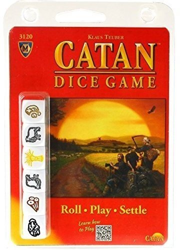 Mayfair Games MFG03120 - Brettspiele, Catan Dice Clamshell Edition