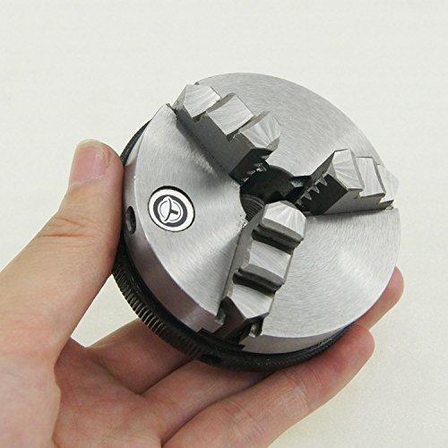 SILVERL 10521806 3 Mini maschinen Selbstklebende Schwingspulenspaltes Uhr zum Basteln Drechselfutter 65 mm