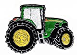 Mainly Metal-Parche planchable verde Tractor insignia