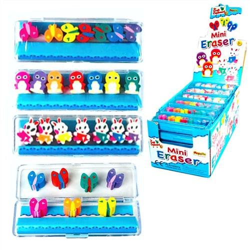 mini-colourful-butterfly-rabbit-penguin-erasers-pack-of-7