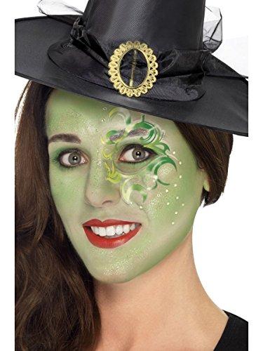 Smiffys Schminke Make Up Set Hexe Meerjungfrau Karneval Fasching Halloween