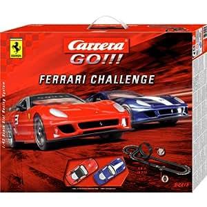 Carrera Go!!! - circuit - 1/43 eme analogique - Go!!! Ferrari Challenge