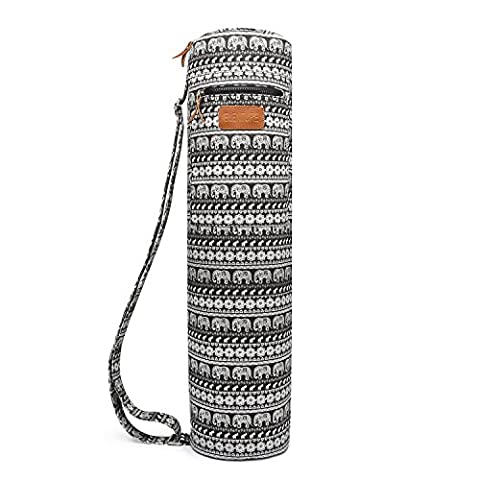 Elenture Full-Zip Exercise Yoga Mat Carry Bag with Multi-Functional Storage Pockets (Jubilee)